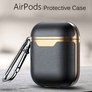 Leather Airpod Case For AirPods Pro 3 2 Earphone Headphones Protective Cases