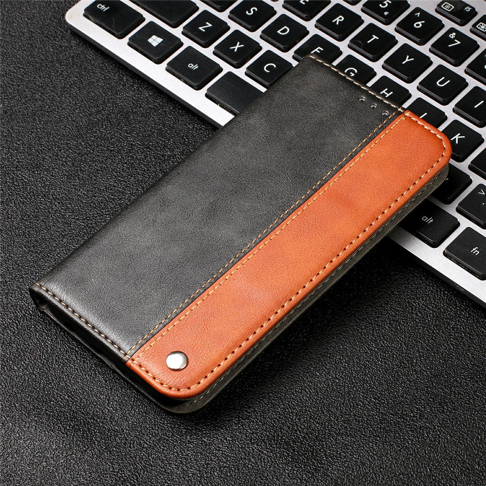 PU Leather Wallet Cover Case For iPhone Retro Magnetic Case