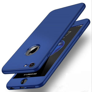 Soft TPU Silicone 360 Full Cover Case for iPhone