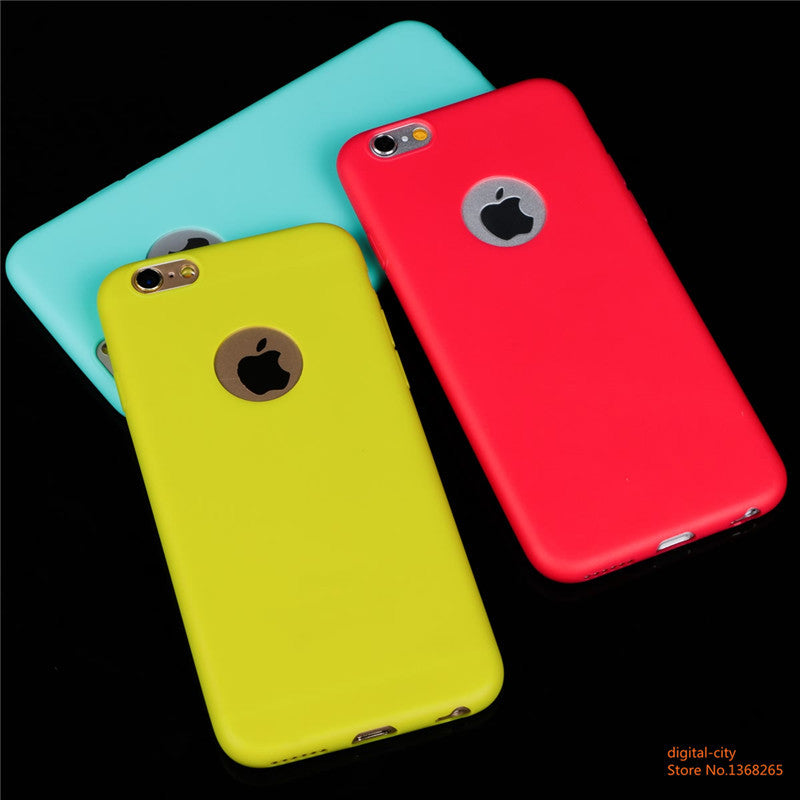 Soft texture TPU Silicon phone cases for iphone 6 6S 4.7inch - iPhone Accessories - iPhone 6 Case | iPhone 6S Case - 5