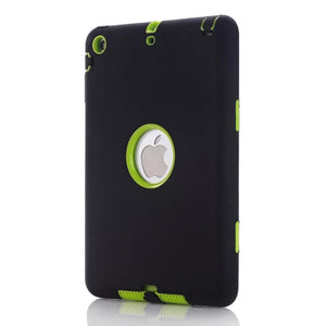 For iPad mini 1/2/3 Retina Kids Safe Armor Shockproof Silicone Hard Case Cover