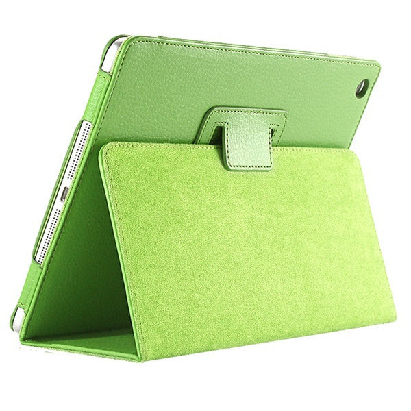 Apple iPad Air 2 Flip Litchi PU Leather Wake Up/Sleep Case Cover with Smart Stand Holder