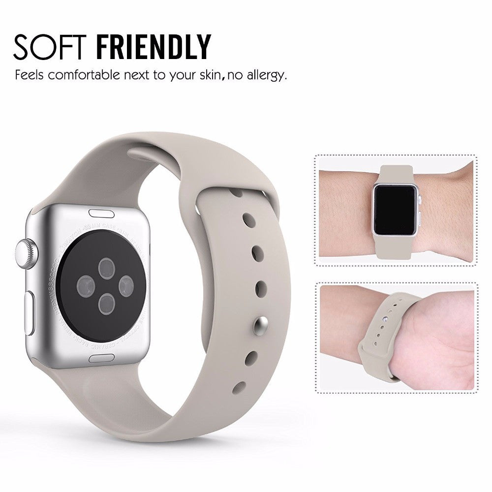 Sport Silicone Bracelet watchband Apple watch Series Watch band 38mm