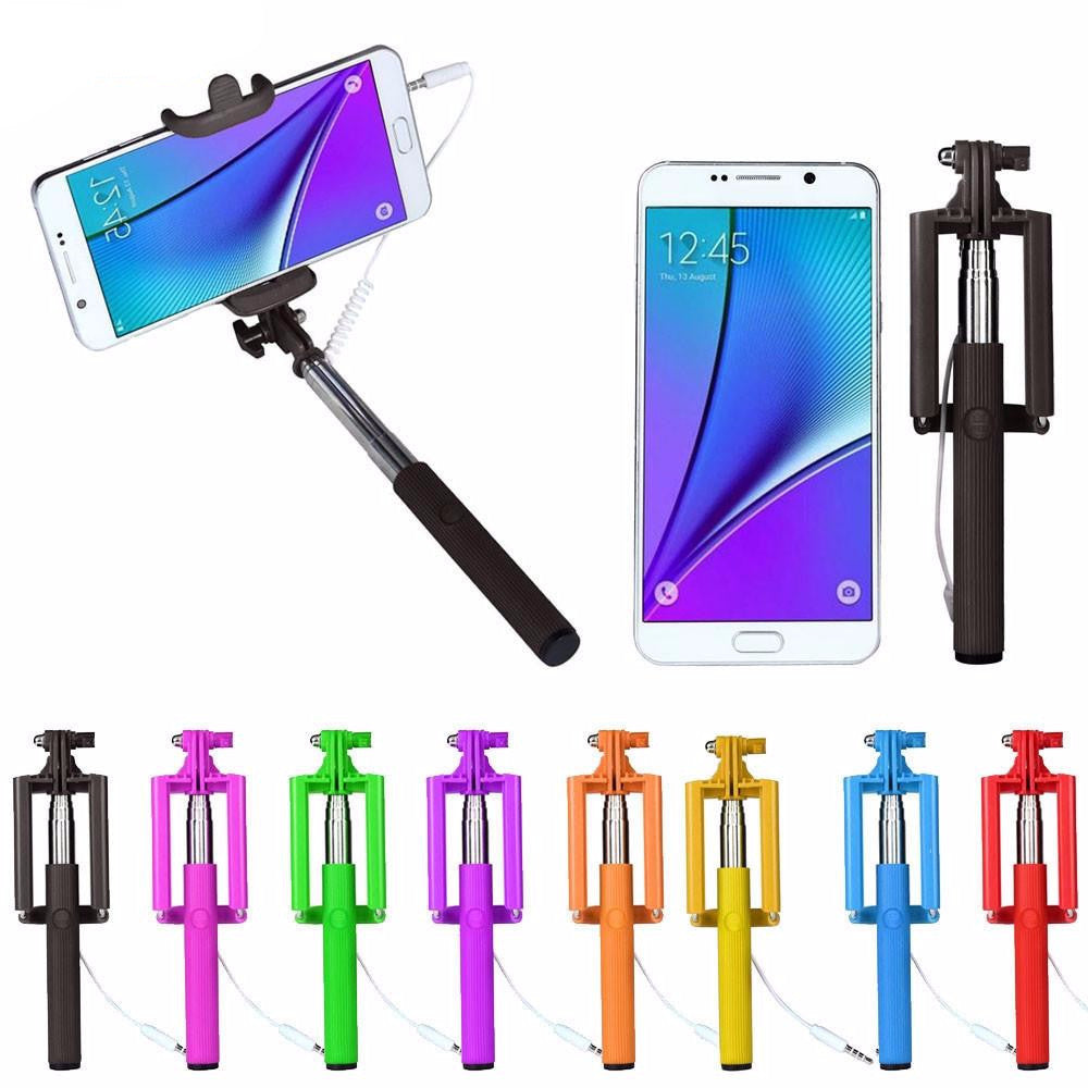 Remote Button Selfie Stick Universal Wireless Para Selfie Monopod for iPhone