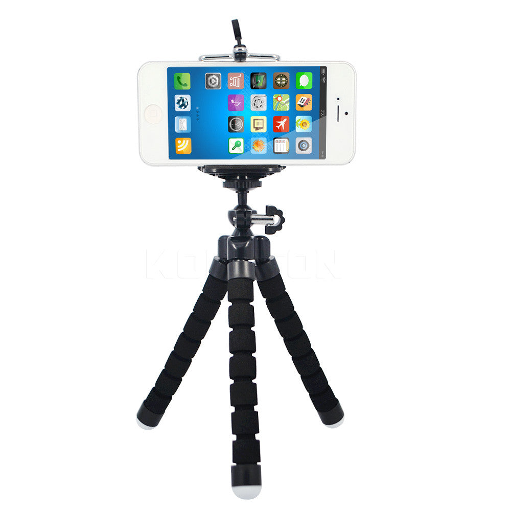 Flexible Tripod Stand Mount Monopod  for iPhone 6 - iPhone Accessories -  - 5