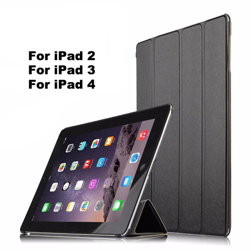 Protective Smart case Leather PU Tablet For iPad 2 3 4 Sleeve Covers 9.7 inch
