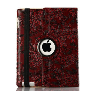 Classic Retro pattern PU Leather case for Apple iPad 2 / 3 / 4 Stand Cover