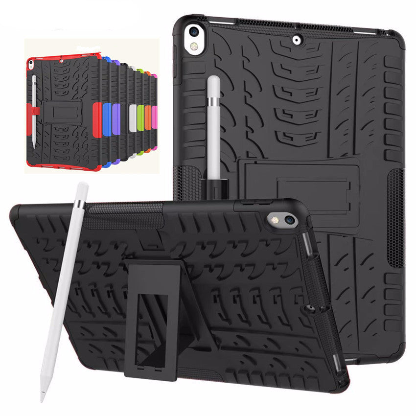 iPad Pro 10.5 inch Shockproof Case Kids Kickstand Armour Silicone Hard Case