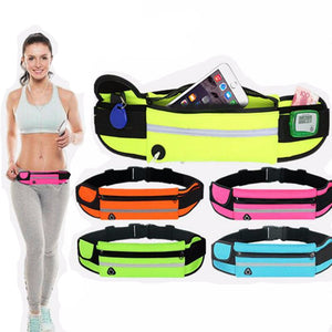 Running Sports Belt Pouch for iPhone 5 5s 6 7 Plus