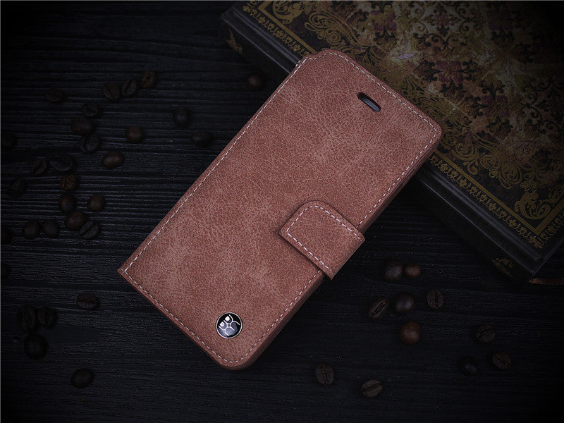9880276411fcf3 Card Slot Vintage Wallet Leather Case for iPhone 6 6S   6 6S Plus