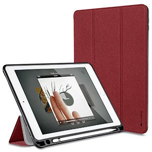 "iPad Pro 10.5 "" Case PU Leather Slim Smart Cover with Pencil holder"