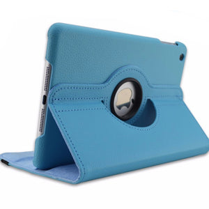 360 Rotation PU Leather case for Apple iPad Mini 1 2 Smart cover - iPhone Accessories - iPad Cases & Covers - 5