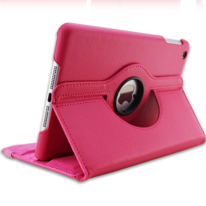 360 Rotation PU Leather case for Apple iPad Mini 1 2 Smart cover - iPhone Accessories - iPad Cases & Covers - 13