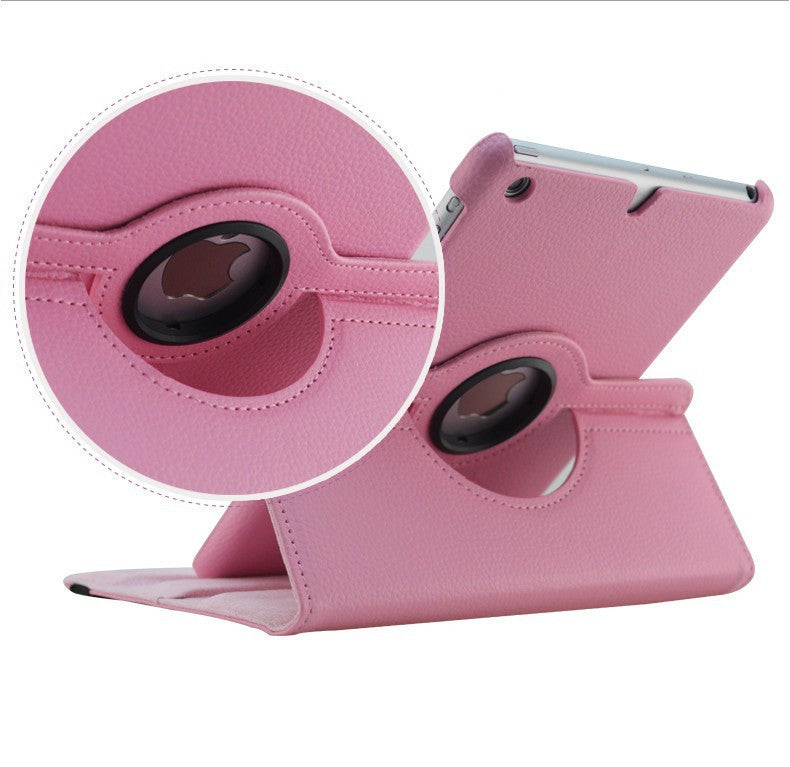 360 Rotation PU Leather case for Apple iPad Mini 1 2 Smart cover - iPhone Accessories - iPad Cases & Covers - 4