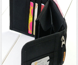 Trifold Casual Nylon Wallet
