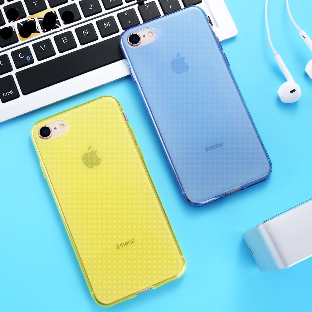 Transparent Soft Thin Clear TPU Case for iPhone 6 6S 7 8 Plus Cover