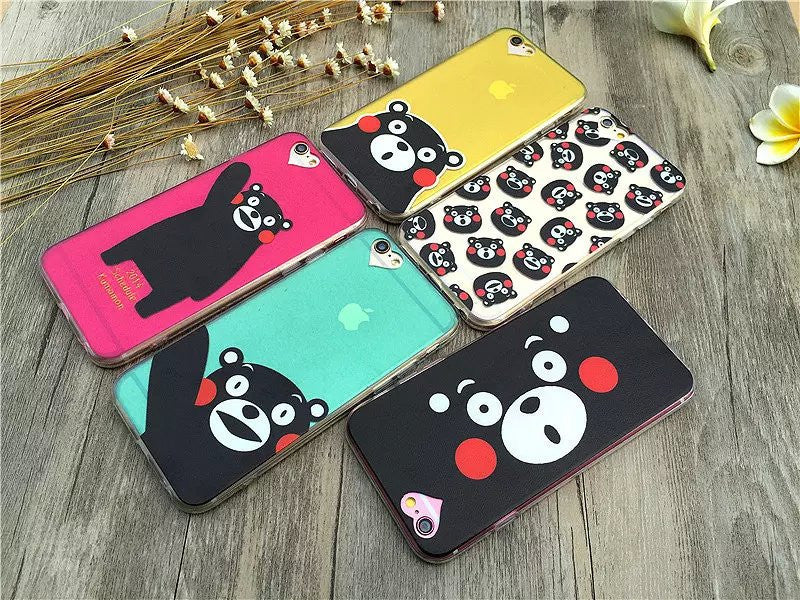 Fashion Thin Funny Cat & Dog Design Back Covers For iPhone 6 6S 4.7inch - iPhone Accessories - iPhone 6 Case | iPhone 6S Case - 24
