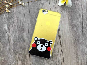 Fashion Thin Funny Cat & Dog Design Back Covers For iPhone 6 6S 4.7inch - iPhone Accessories - iPhone 6 Case | iPhone 6S Case - 16