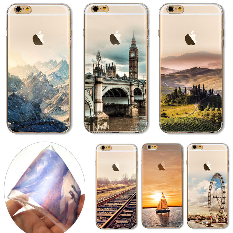 Beautiful Scenery Soft TPU Cover For Apple iPhone 7 Plus Cases - iPhone Accessories - iPhone 7 Case | iPhone 7 Plus Case - 1
