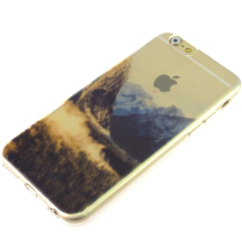 Beautiful Scenery Soft TPU Cover For Apple iPhone 7 Plus Cases - iPhone Accessories - iPhone 7 Case | iPhone 7 Plus Case - 9