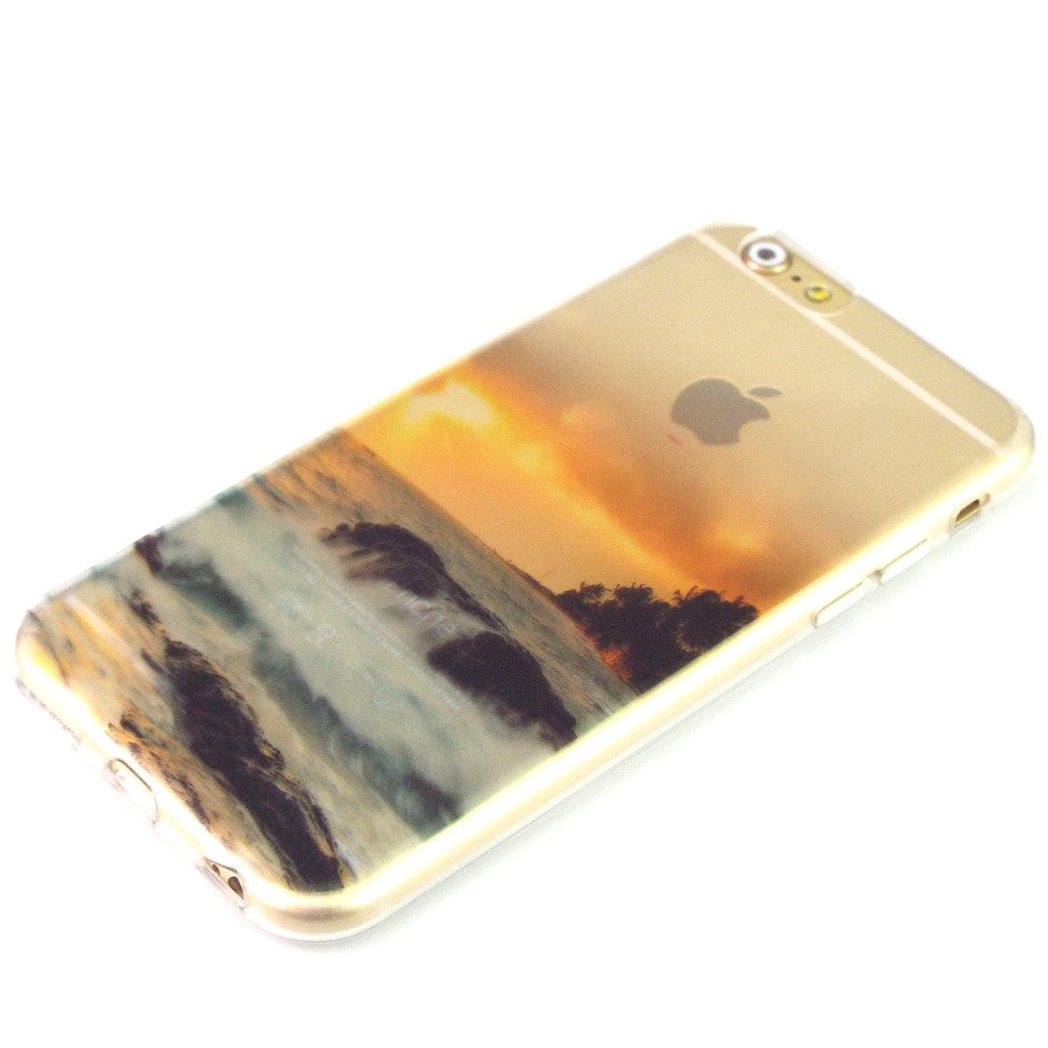 Beautiful Scenery Soft TPU Cover For Apple iPhone 7 Plus Cases - iPhone Accessories - iPhone 7 Case | iPhone 7 Plus Case - 11