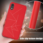 Soft TPU Geometry Magnetic Case for iPhone