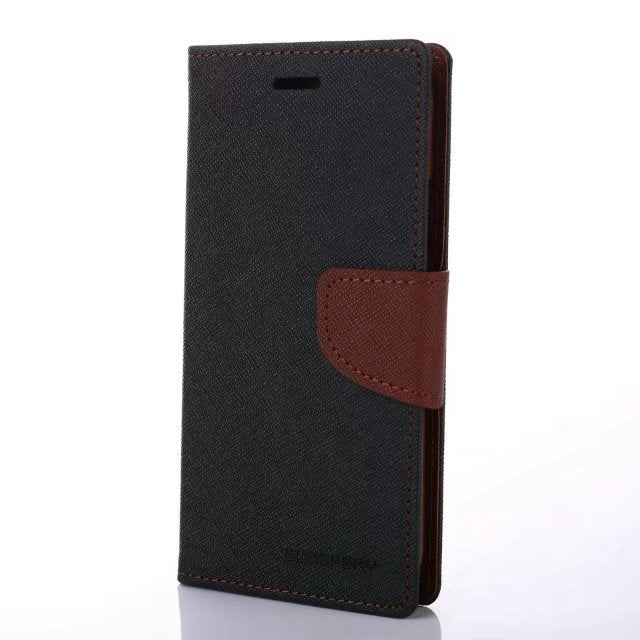 MERCURY iPhone PU Leather Wallet Case with Stand Holder