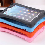 iPad mini 1/2/3 Soft Silicon Rubber Kids Shockproof Tablet Stand Cover For iPad