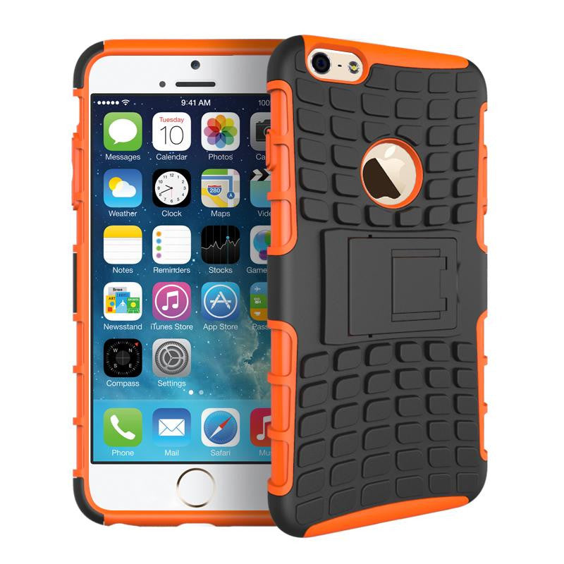 iPhone 6 6S Heavy Duty Armour Shockproof Hard Silicone Rubber Case - iPhone Accessories - iPhone 6 Case | iPhone 6S Case - 8