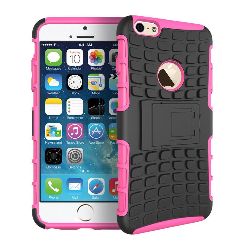 iPhone 6 6S Heavy Duty Armour Shockproof Hard Silicone Rubber Case - iPhone Accessories - iPhone 6 Case | iPhone 6S Case - 14