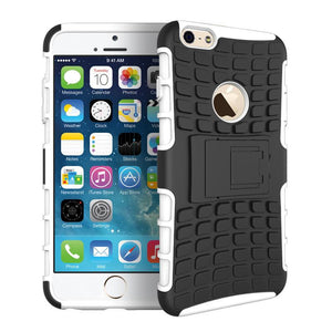 iPhone 6 6S Heavy Duty Armour Shockproof Hard Silicone Rubber Case - iPhone Accessories - iPhone 6 Case | iPhone 6S Case - 11