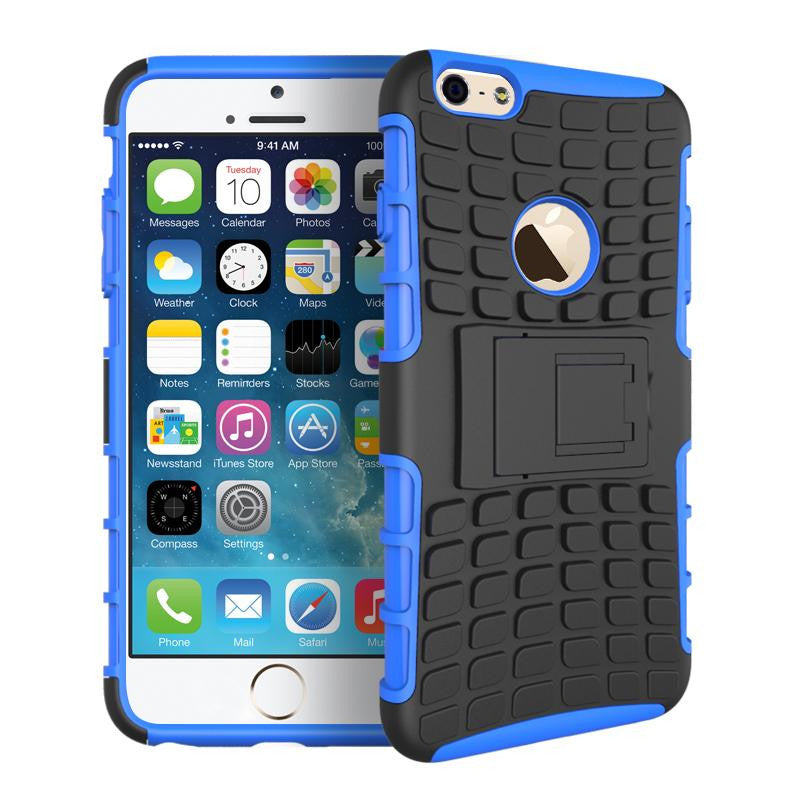 iPhone 6 6S Heavy Duty Armour Shockproof Hard Silicone Rubber Case - iPhone Accessories - iPhone 6 Case | iPhone 6S Case - 9