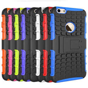 iPhone 6 6S Heavy Duty Armour Shockproof Hard Silicone Rubber Case - iPhone Accessories - iPhone 6 Case | iPhone 6S Case - 1