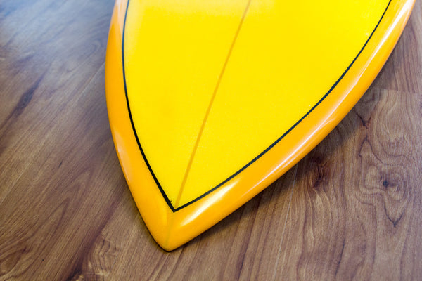 Rodeobird Quad Diamond Tail Surfboard Handshaped Nose