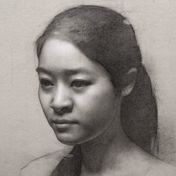 Graphite & Chalk On Toned Paper