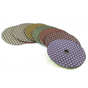Traxx ATOM Wet/Dry Polishing Pads 125mm-180mm
