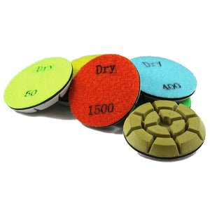 Traxx SUPER Resin Polishing Pads - DRY - QTY of 9