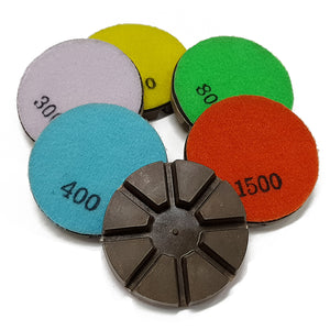 Traxx SUPER Resin Polishing Pads - WET - QTY of 9