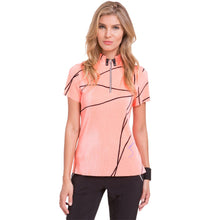 Load image into Gallery viewer, Jamie Sadock Short Sleeve Polo - Blurred Lines (Crunch)