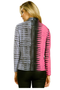 Jamie Sadock Long Sleeve Solar Polo - Pinkterest 810