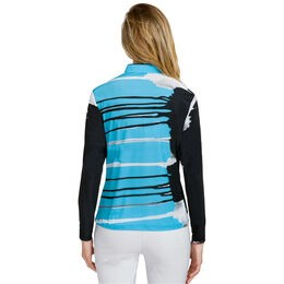 Jamie Sadock Long Sleeve Solar Polo - Canyon