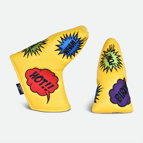 PRG Originals, Pop Art, Blade Putter Cover - Yellow