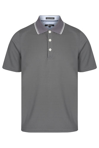 38 South Polo - Mens Pique Plain Cooldry