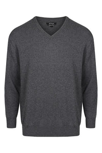 38 South Sweater - Mens Cotton/Cashmere V Neck