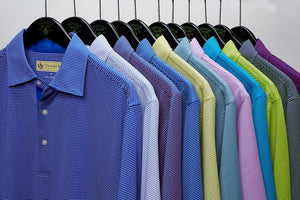 Donald Ross 120R Micro Stripe Jersey
