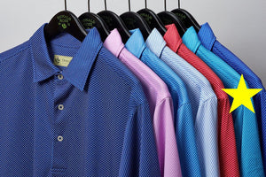 Donald Ross Diagonal Dotted Line Jersey