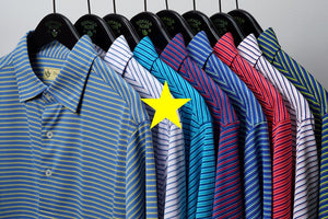 Donald Ross Reg Multi Stripe Jersey