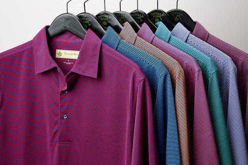 Donald Ross Classic Polo - Feeder Stripe