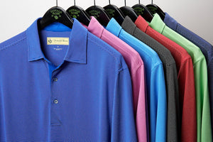 Donald Ross Classic Polo - Micro Stripe