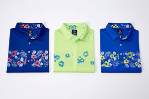 Donald Ross Sport Micro Hawaiian Jersey